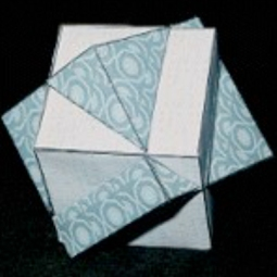 Intersection of 2 cubes, orientation 2