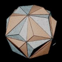 Intersection of 2 dodecahedra