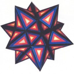 Small Stellated Dodecahedron (blue)